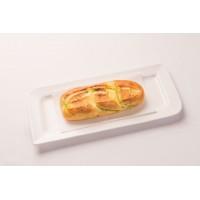 2. Pan de ajo con mozzarella